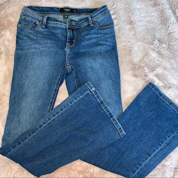 Torrid Denim Bootcut Denim Jeans 10R